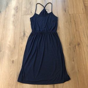 SALE⚡️ Loft Navy Racerback Dress